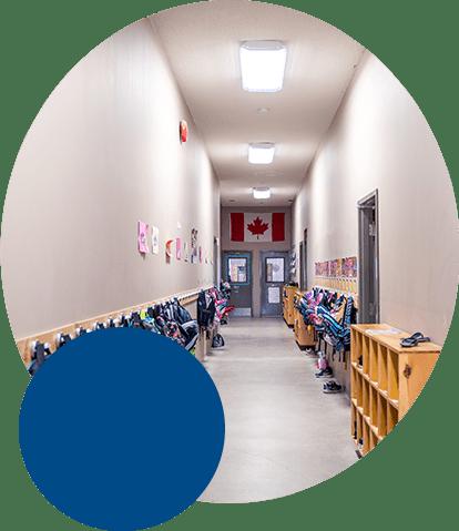 SSCS hallway